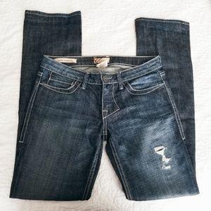 🍁William Rast Sadie Straight Leg Distressed Jeans